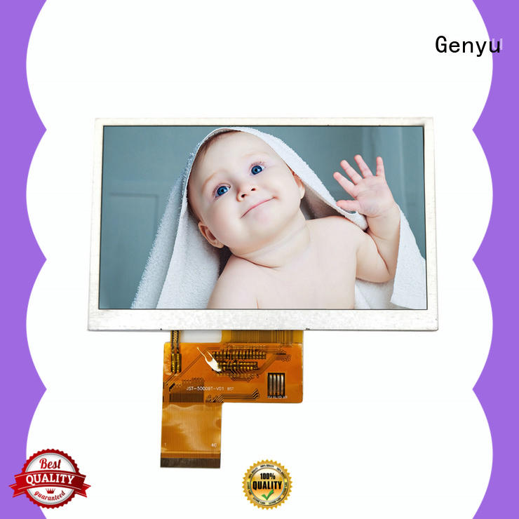 Genyu new lcd tft module factory for automobile