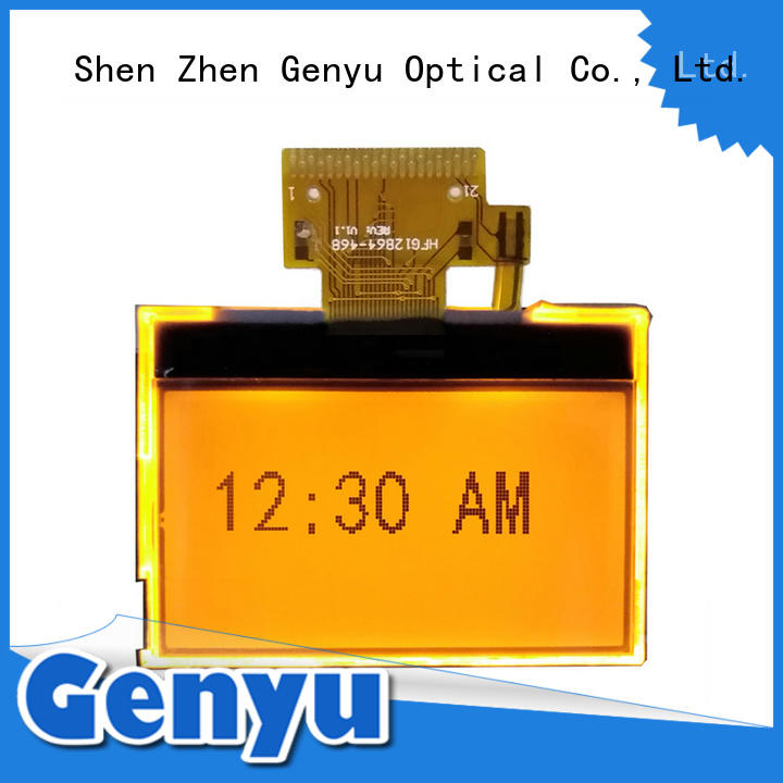 Genyu large production of 12864 lcd display module exporter for industry