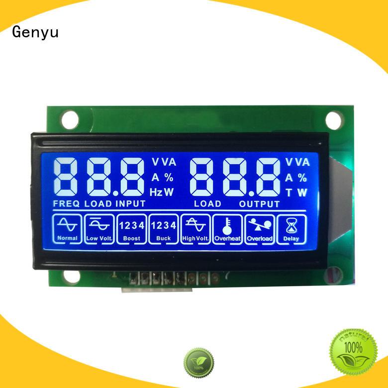 Genyu gy8226 custom size lcd company for video