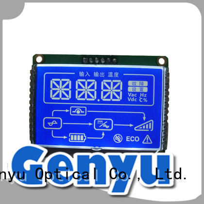 Genyu hot selling customized lcd panel module for instrumentation
