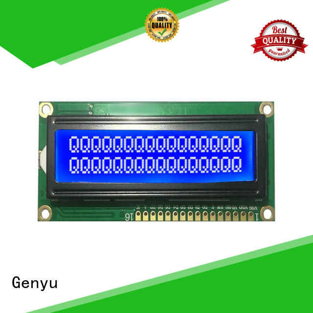 Genyu High-quality character lcd display module for industrial