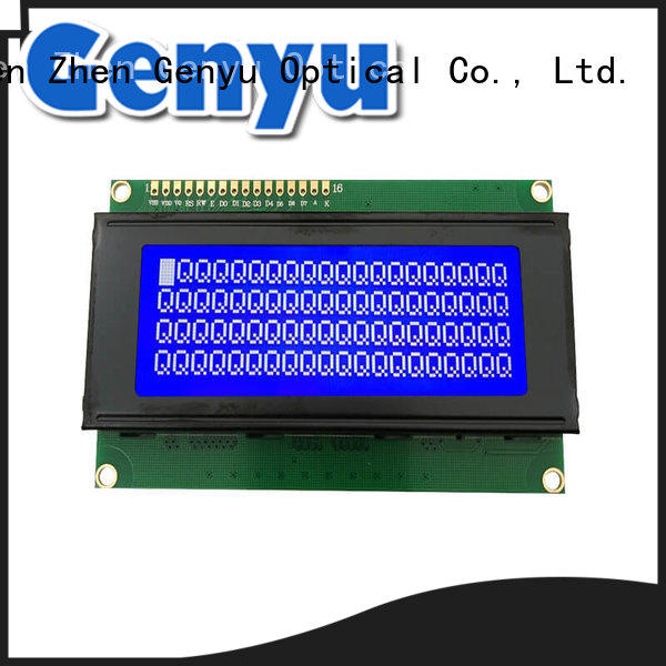 Genyu 2004a character lcd display wholesale for meter