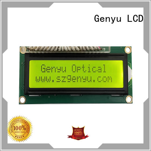 Genyu displays character lcd for business for aerial molds