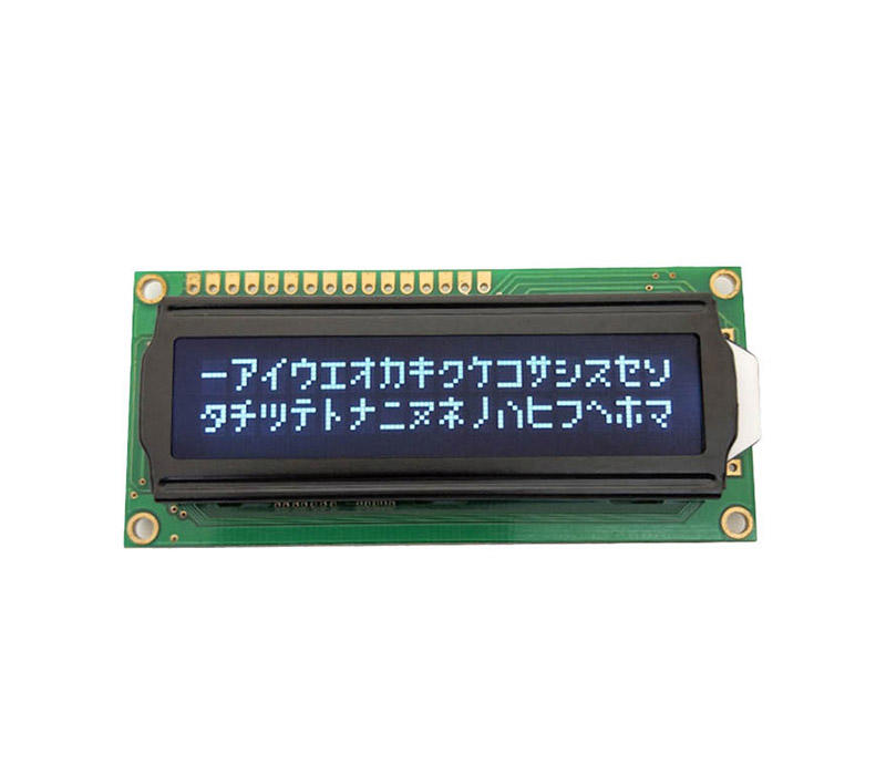LCD Character Displays 1602C/5AX305