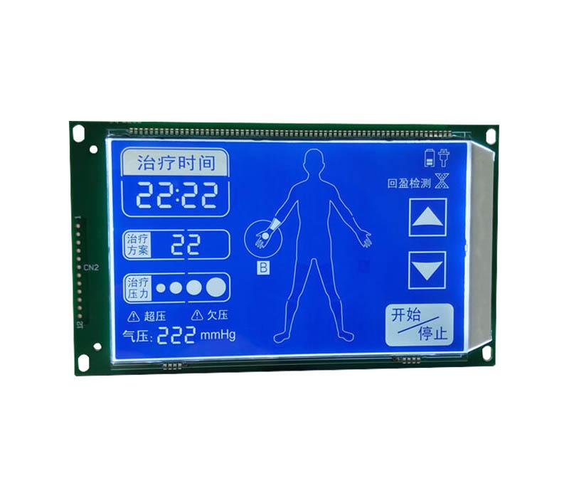Genyu gy03836nm segment lcd module manufacturers for instrumentation-1