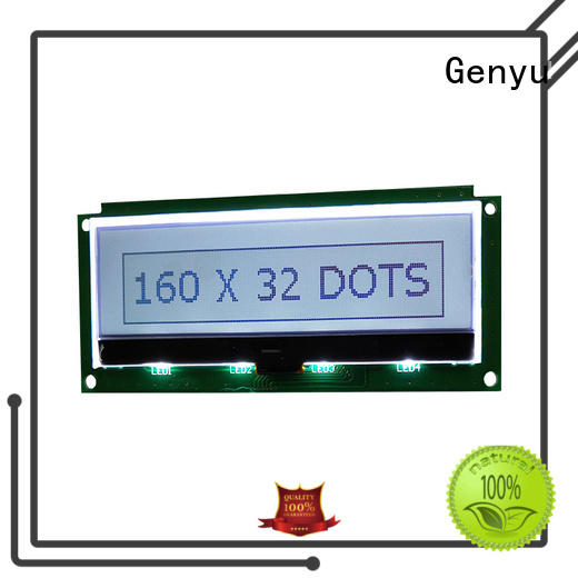 Genyu Latest lcm lcd supply for instruments panels