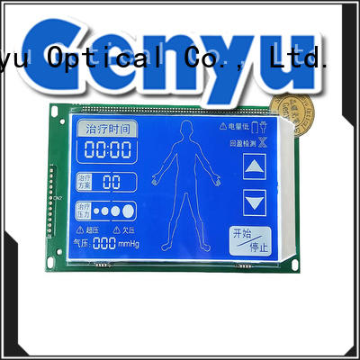 Genyu new design segment lcm display gy5626a01 for machines
