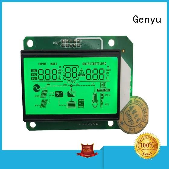Genyu Top segment lcd module manufacturers for instruments