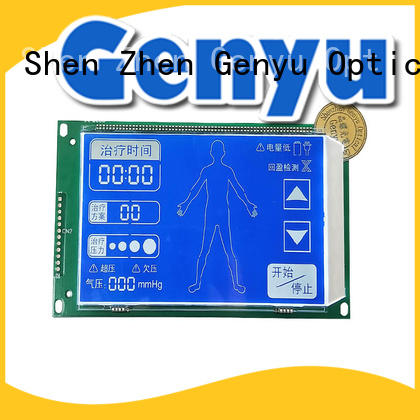 gy5626a01 Custom segment lcd screen order now for POS