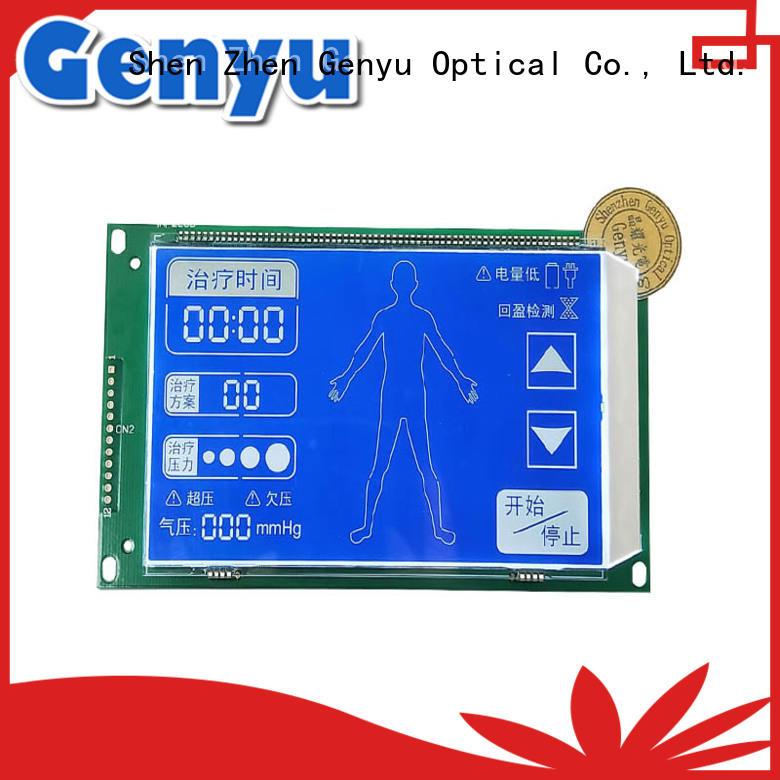 Genyu custom 7-segment lcd order now for medical