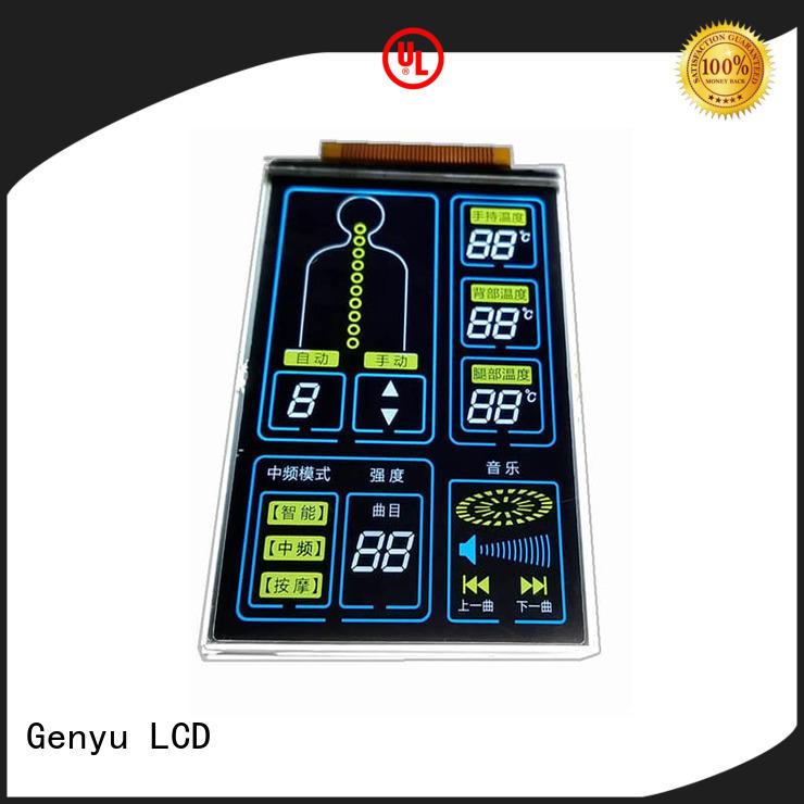 Genyu High-quality segment lcd display supply for machines