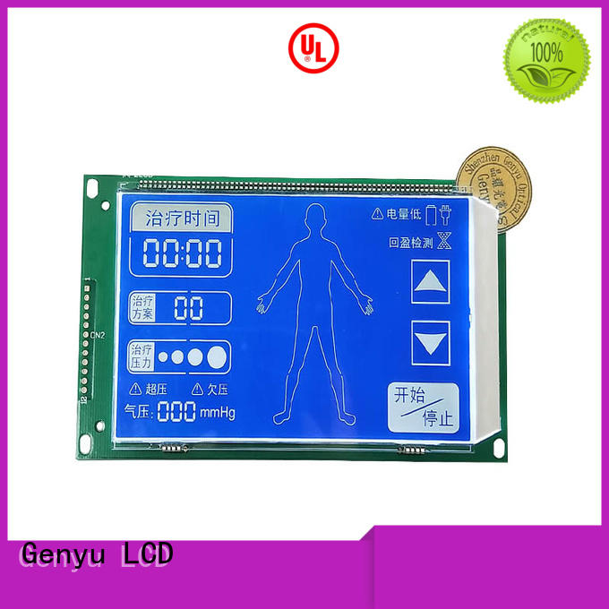 Genyu New segment lcd screen company for instrumentation