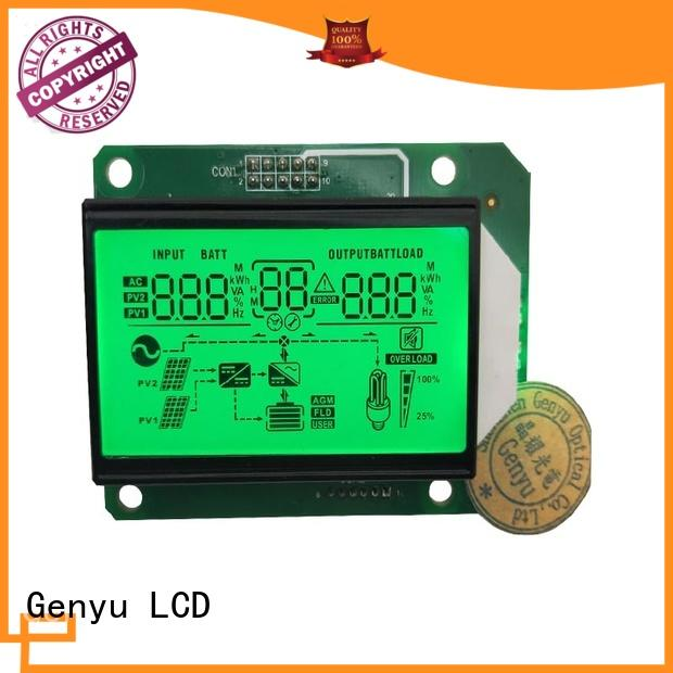 Genyu gy50378a segment lcd screen company for fax machines
