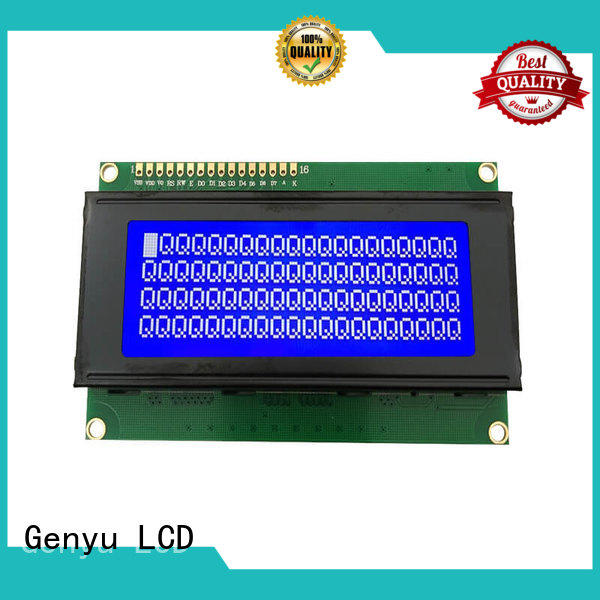 Genyu 1602c5ax305 character display modules suppliers for meter