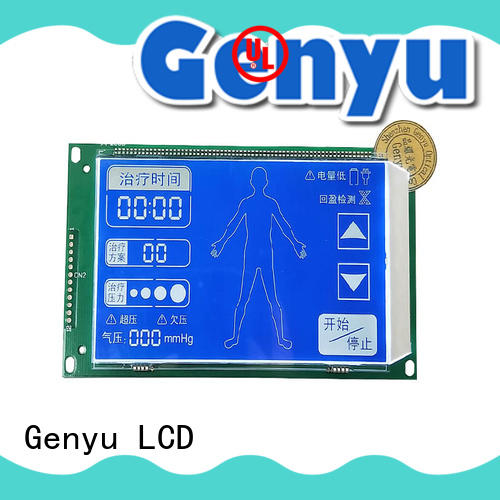 Genyu Wholesale segment lcm display suppliers for POS