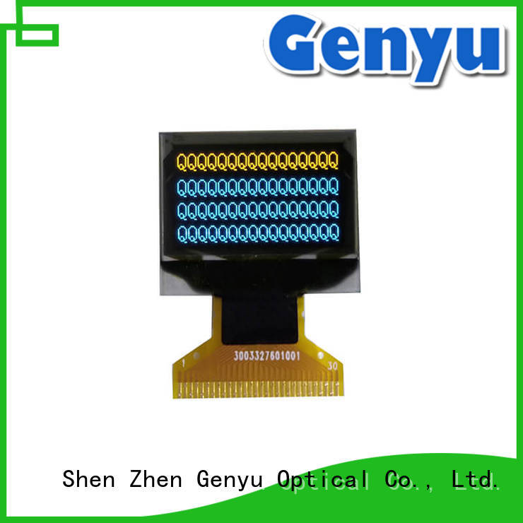 Genyu Custom 128x64 i2c oled solution expert for smart watch