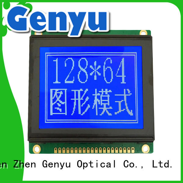 Genyu OEM ODM 128x32 lcd graphic display modules exporter for medical equipment