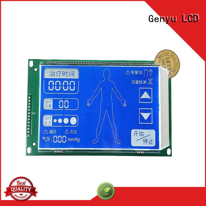Genyu Latest segment lcm supply for instruments