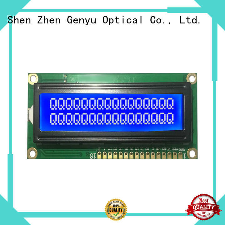 Genyu gy1601 character display modules factory for TAB