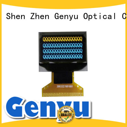 Genyu two lcd oled display company for smart home