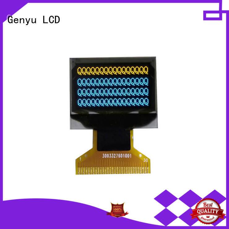 Genyu 64x128 oled display modules company for DJ mixer