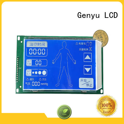 Genyu gy5773v custom size lcd for business for meter