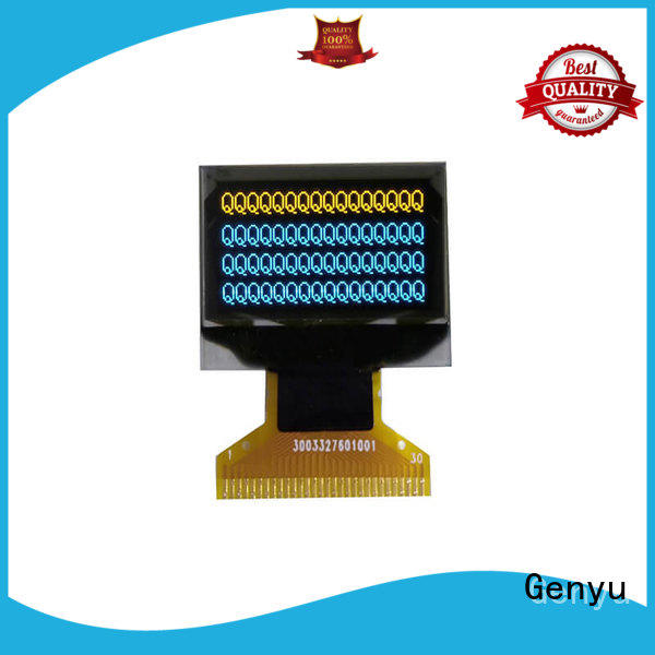 Genyu micro lcd oled display manufacturers for hardware wallet