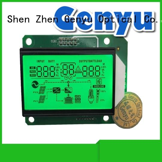 Genyu China Custom segment lcd screen factory order now for POS