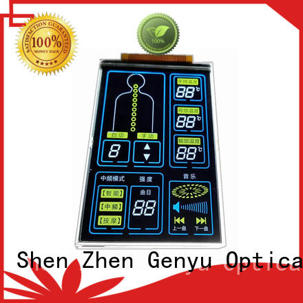 Genyu New segment lcd display factory for instrumentation