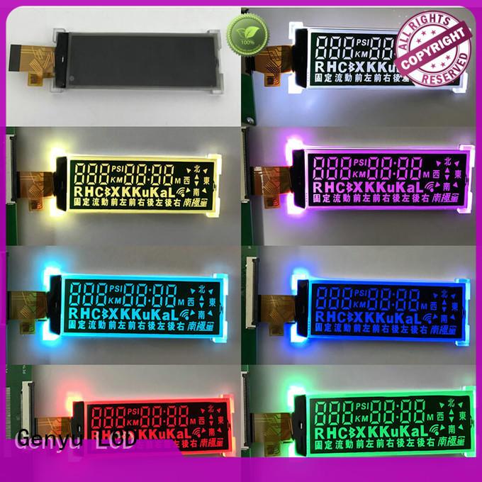 Genyu Best lcd display custom manufacturers for instrumentation