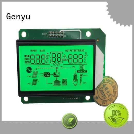 Genyu module segment lcd module manufacturer factory for instrumentation