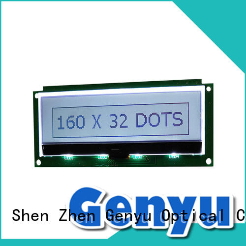 Genyu lcd lcm-lcd display awarded supplier for smart home