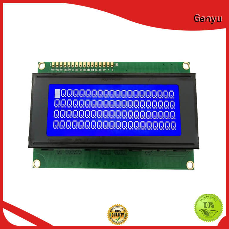 Genyu 1602a9 character lcd display company for home radios