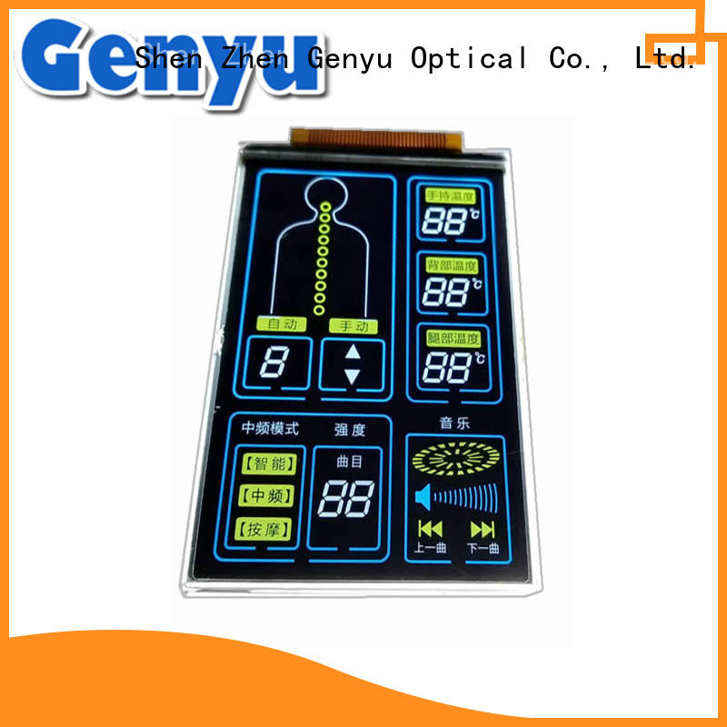 gy03656 7-segment lcd display exporter for machines