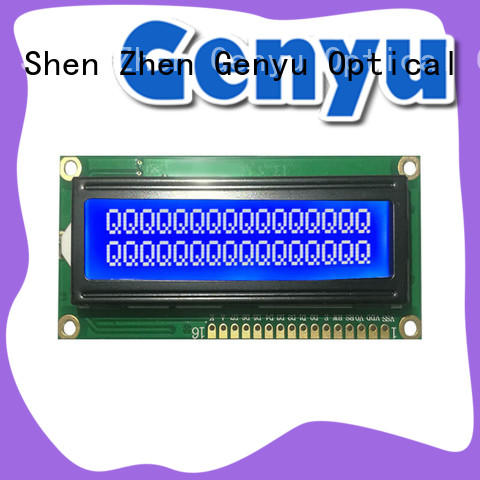 Genyu CE approved character lcd display 17 years' experience for home radios