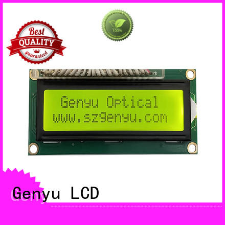 Genyu character lcd display 16x2 manufacturers for aerial molds