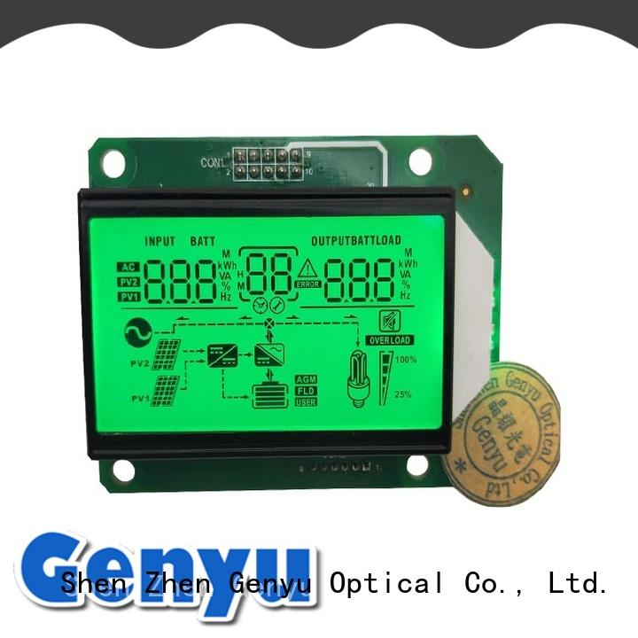 gy8812825 Custom segment lcd screen lcd for meters Genyu