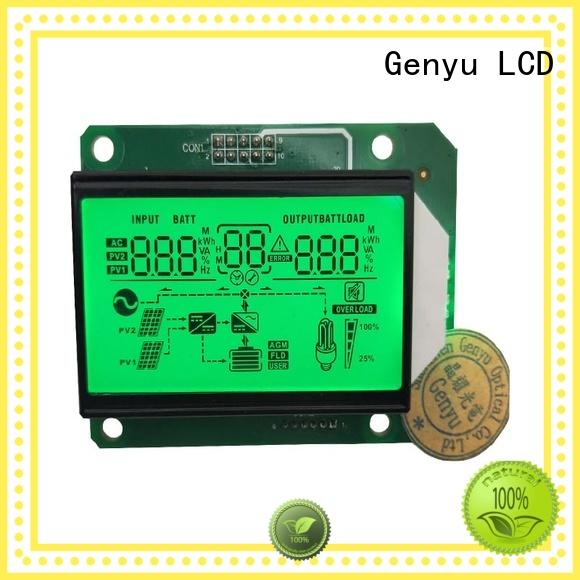 Genyu Latest segment lcd display manufacturers for meter