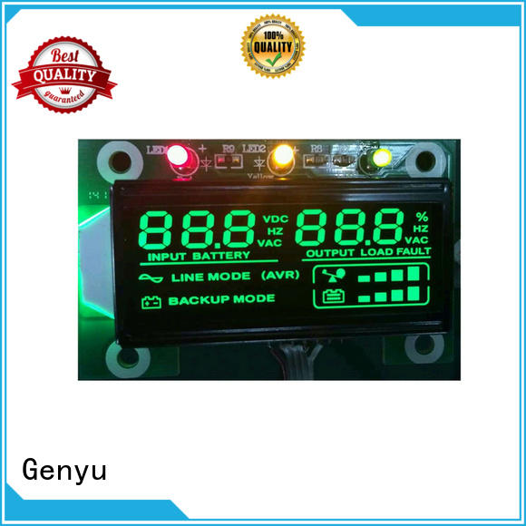 Genyu gy04912nm custom size lcd factory for home appliances