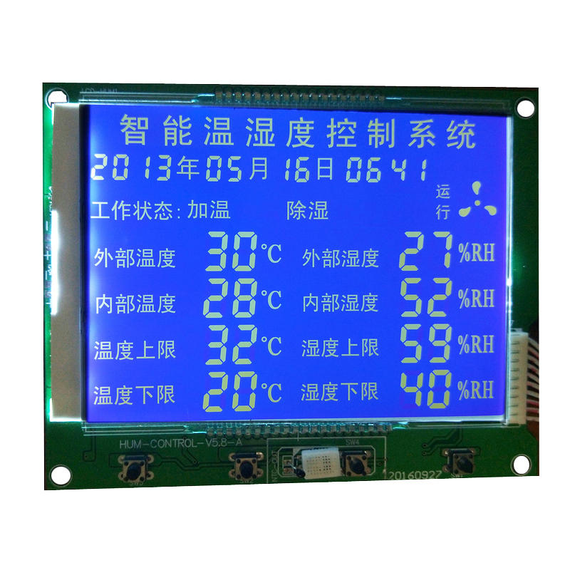 Custom LCD Display Segment GY03656