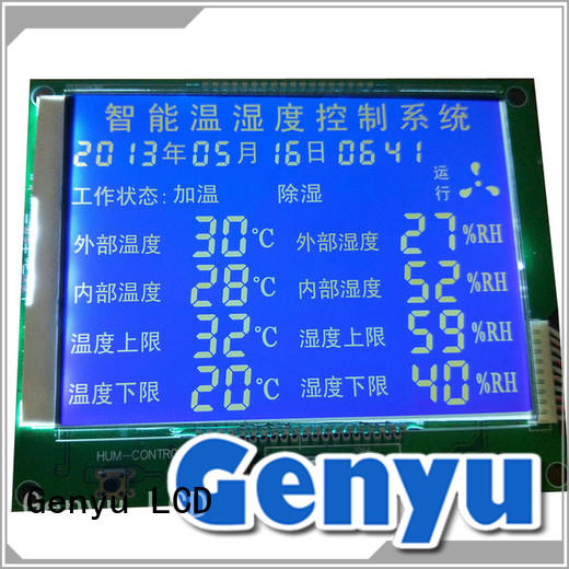 Genyu gy6303 lcd display custom suppliers for meter