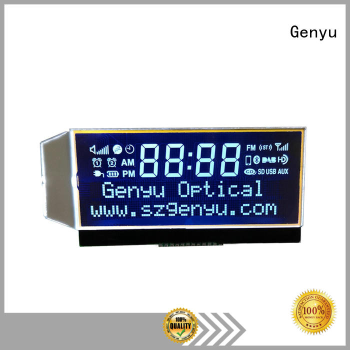 Genyu laser custom lcd manufacturer company for laser