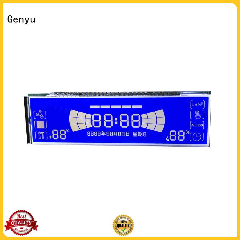 Genyu display 7-segment lcd for meters