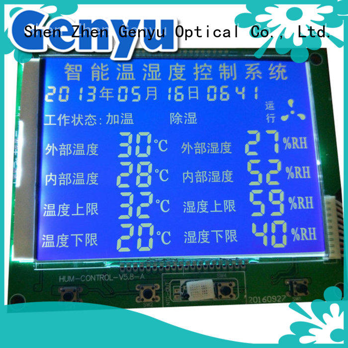gy50378a segment lcd module manufacturer exporter for instrumentation