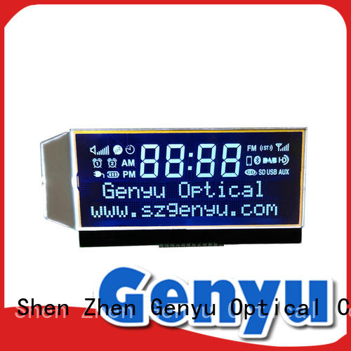 Genyu hot selling custom lcd screen lcm for home appliances
