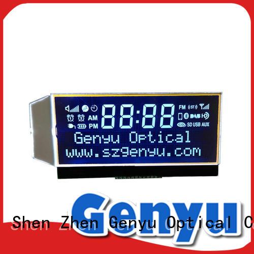 Genyu hot selling custom lcd screen lcm for home appliances