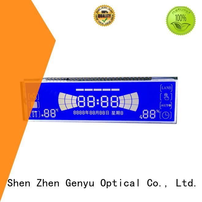 Genyu segment segment lcd module for medical