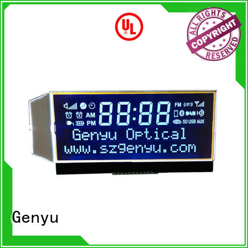 Genyu black custom size lcd suppliers for laser