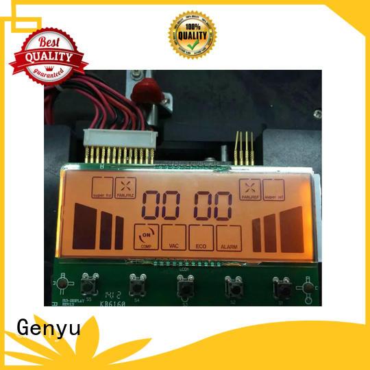 Genyu gy6805 lcd display custom company for laser
