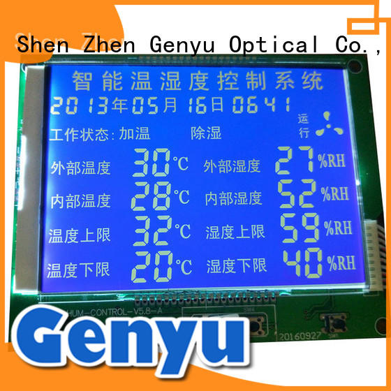 Genyu gy6331 custom lcd screen request for quote for home appliances